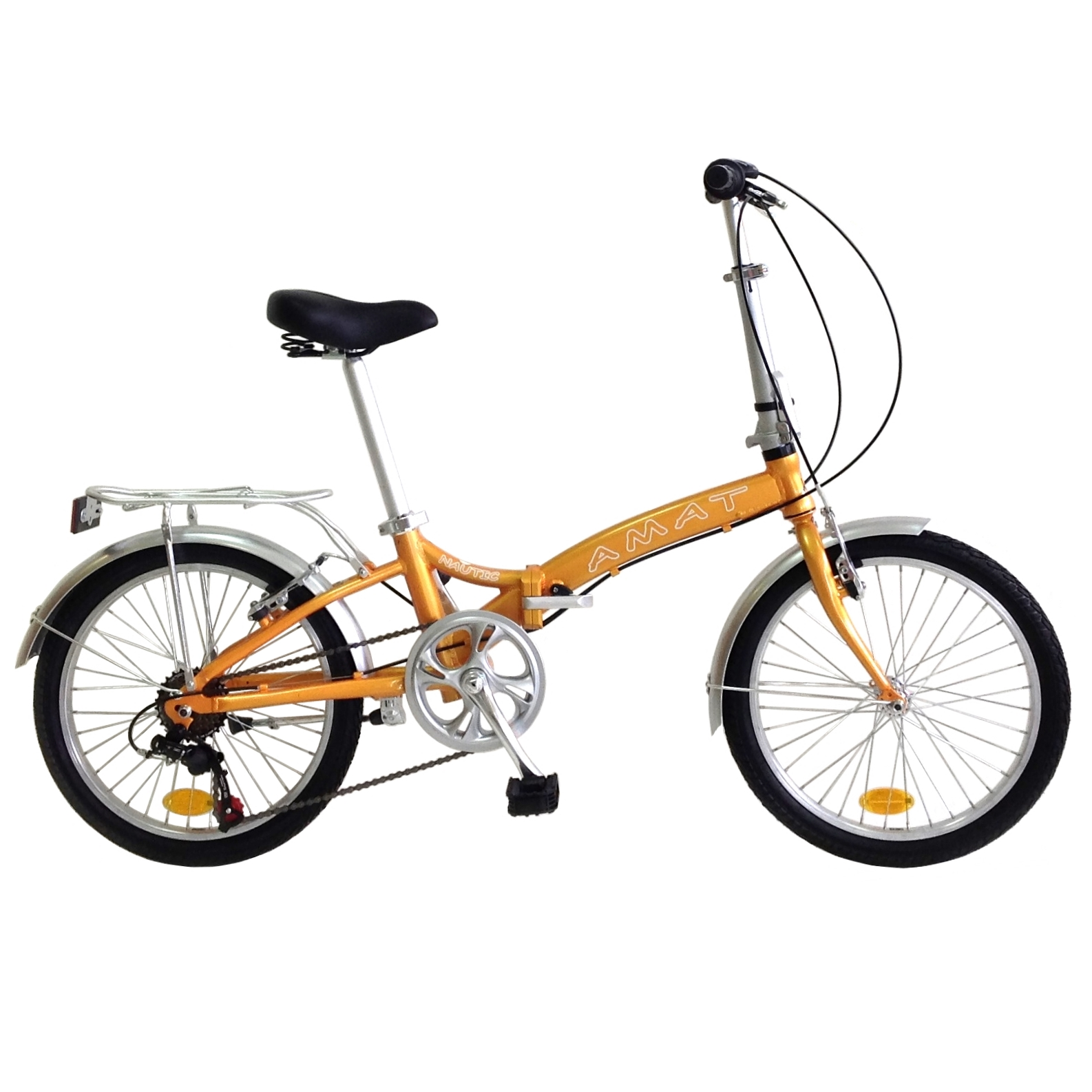 Bicis plegables Nautic 20 Naranja aluminio