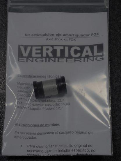 Kit eje articulacion Ø12.7