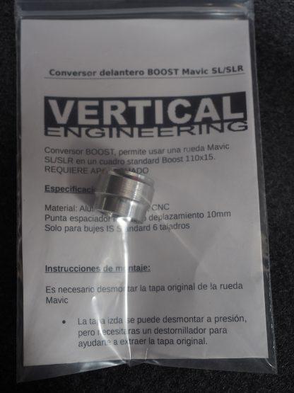 Conversor delantero BOOST Mavic SLR/SLR IS